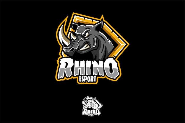 Logotipo da rhino esport