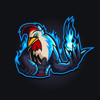 Logotipo da rooster esport gaming