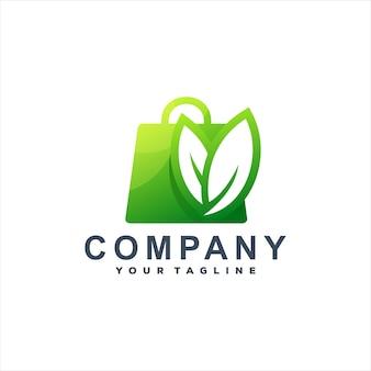 Logotipo da sacola de compras