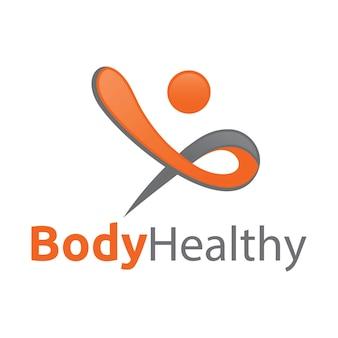 Logotipo da saúde corporal
