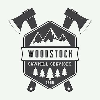 Logotipo da serraria