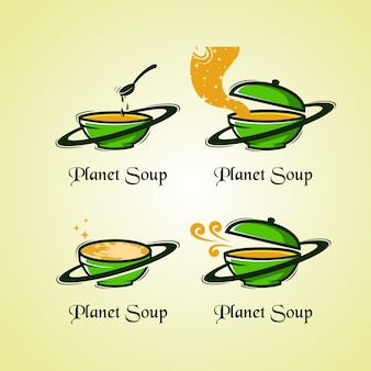 Logotipo da sopa do planeta