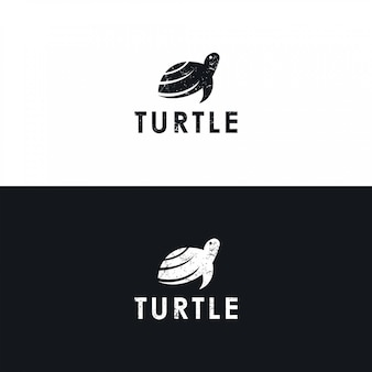 Logotipo da tartaruga minimalista