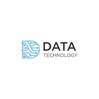 Logotipo da tecnologia de dados