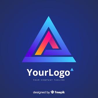 Logotipo da tecnologia gradiente