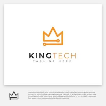 Logotipo da tecnologia king