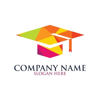 Logotipo da toga para a escola