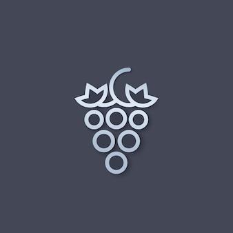Logotipo da uva