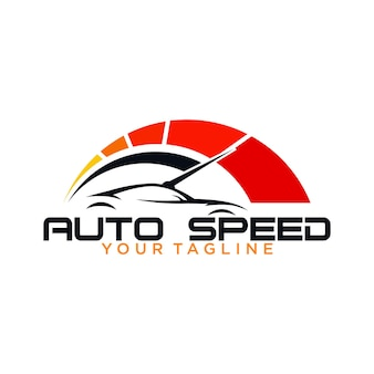 Logotipo da velocidade automática