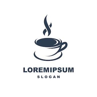 Logotipo da xícara de café