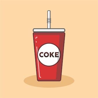 Logotipo da xícara de coca