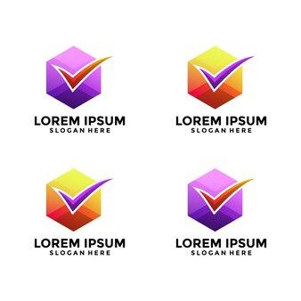 Logotipo das coleções da lista de verificação