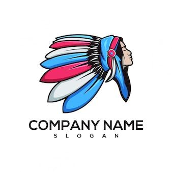 Logotipo das mulheres indianas