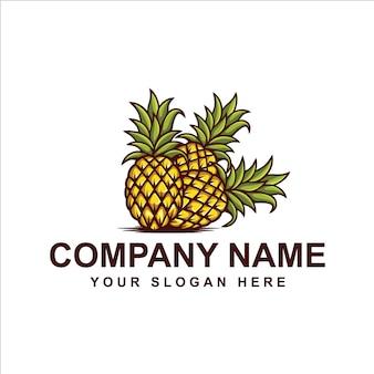 Logotipo de abacaxi