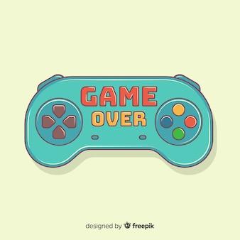 Logotipo de almofada de jogo desenhado de mão