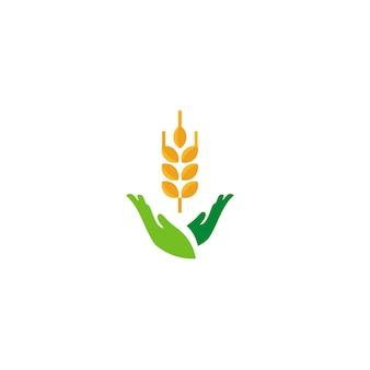 Logotipo de arroz