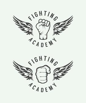 Logotipo de artes marciais mistas