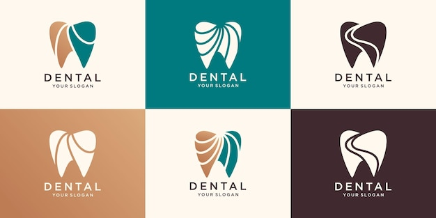 Logotipo de atendimento odontológico para empresa
