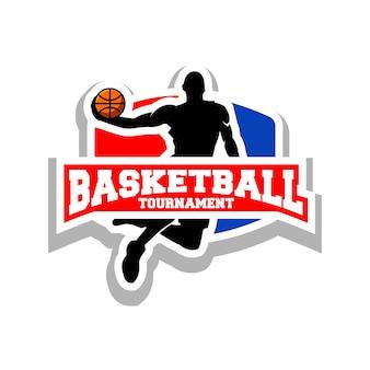 Logotipo de basquete