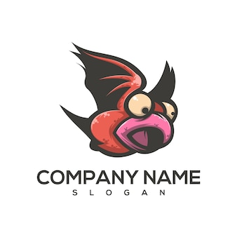 Logotipo de bebê ruim