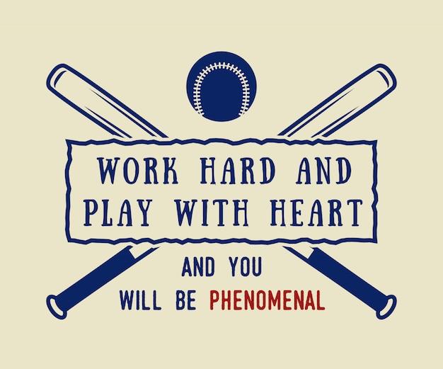 Logotipo de beisebol, emblema
