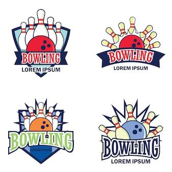 Logotipo de boliche