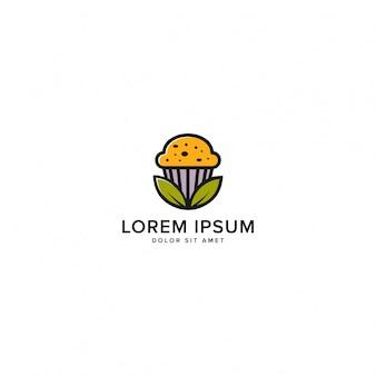Logotipo de bolos orgânicos