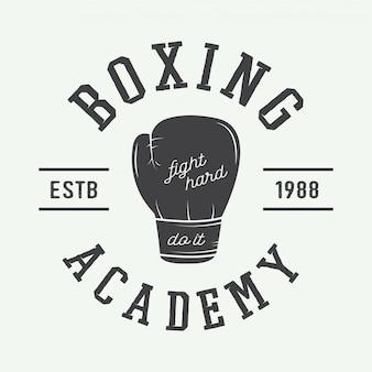 Logotipo de boxe