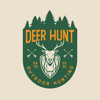 Logotipo de caça