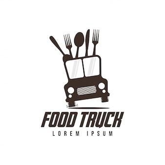 Logotipo de caminhão de comida
