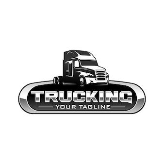 Logotipo de camionagem