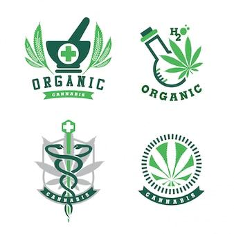 Logotipo de cannabis