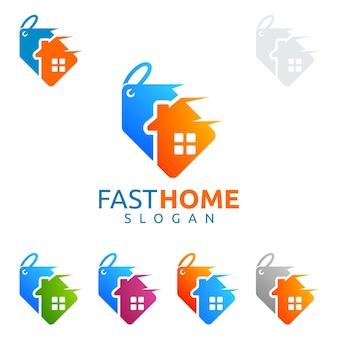 Logotipo de casa de vendas
