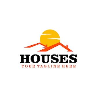 Logotipo de casas
