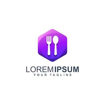 Logotipo de comida