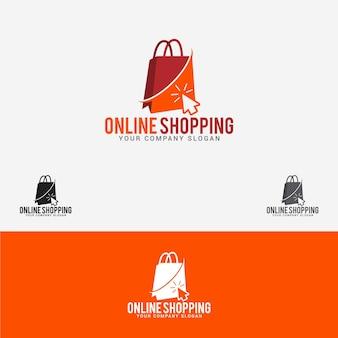Logotipo de compras online