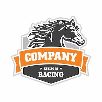 Logotipo de corridas de cavalos