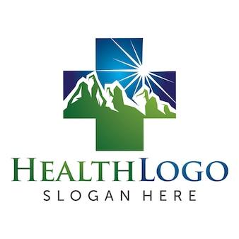 Logotipo de cuidados de saúde e médicos