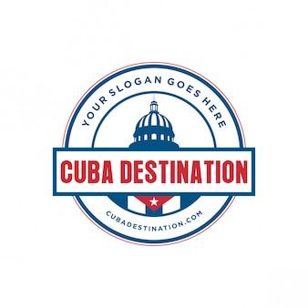 Logotipo de destino de cuba