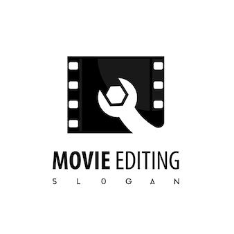 Logotipo de edição de vídeo