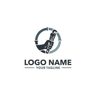 Logotipo de encanamento