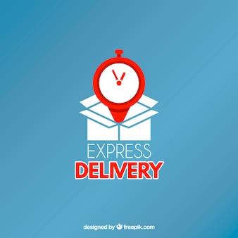 Logotipo de entrega para empresas