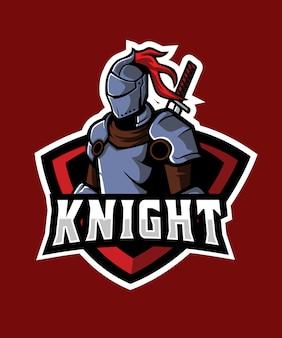 Logotipo de esportes royal kniight e