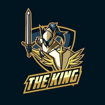 Logotipo de esports knight