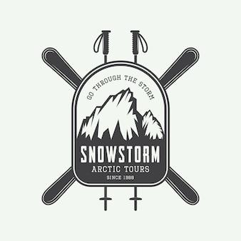 Logotipo de expedições de montanhismo