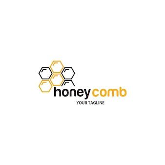 Logotipo de favo de mel