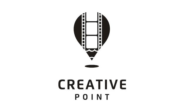Logotipo de filme / filme / vídeo / fotografia