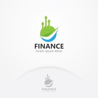 Logotipo de finanças