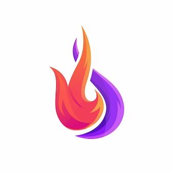 Logotipo de fogo