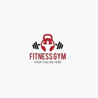 Logotipo de ginásio de fitness